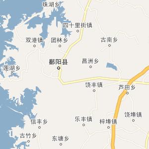 南昌市电子地图