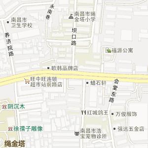 南昌市绳金塔地图