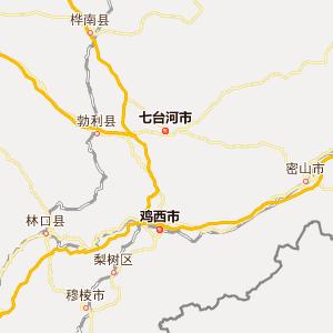 双鸭山市宝清县地图图片