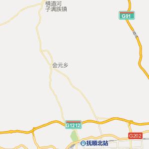 抚顺公交车线路查询 抚顺公交车线路 ->25路  显示全部站点名称 枢纽
