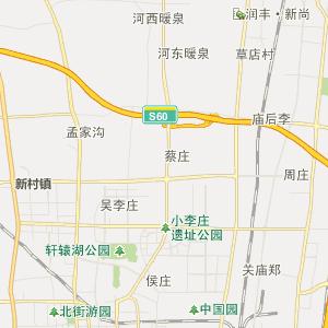 秦皇岛市刘庄地图