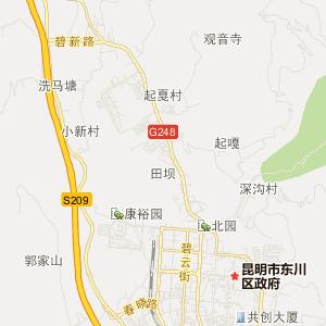 昆明市区地图高清版