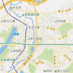 南宁公交车线路查询 南宁公交车线路 ->7路上行  药用植物园 终点