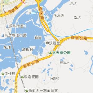 深圳公交车线路查询 深圳公交车线路 ->b689路下行  显示全部站点名称